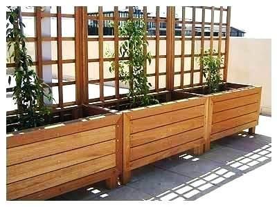 ξυλινες γλάστρες